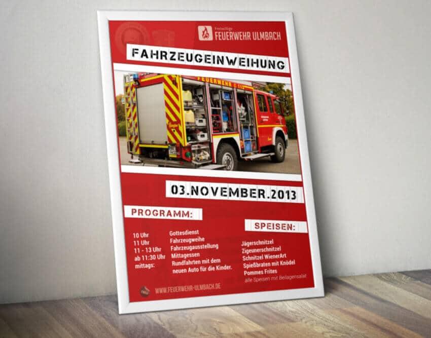 Feuerwehr SteinauUlmbach Print